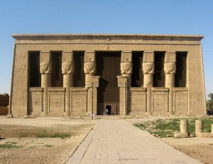 Temple of Hathor in Dendera
